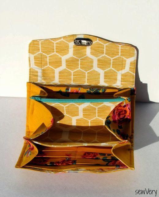 The Necessary Clutch Wallet x 2   sewVery   Bloglovin'