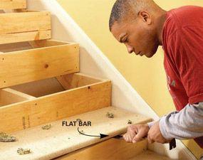 Best How To Repair Squeaky Stairs Home Repairs Diy Home Repair 400 x 300