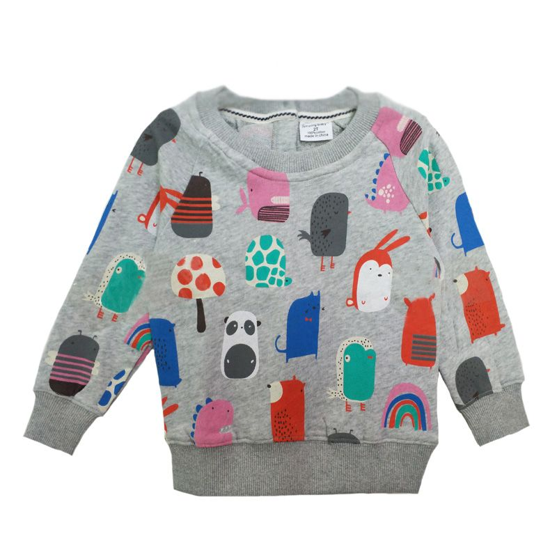 45d4b1f91f Baby Girl Tshirt Long Sleeve Cartoon Animal Pattern Toddler Boy T-shirts  Autumn Fashion Cute Kids T Shirt For Children Clothing   Price   20.86      kids
