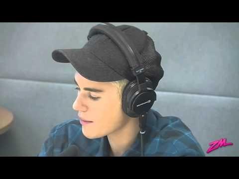 Justin Bieber Radio Interview With Vaughan On ZM
