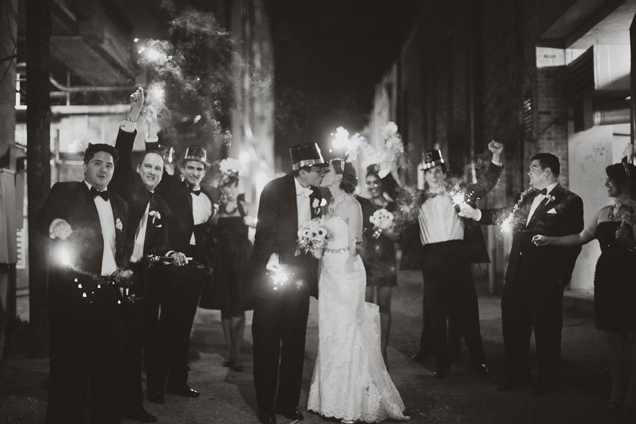 great wedding party shot