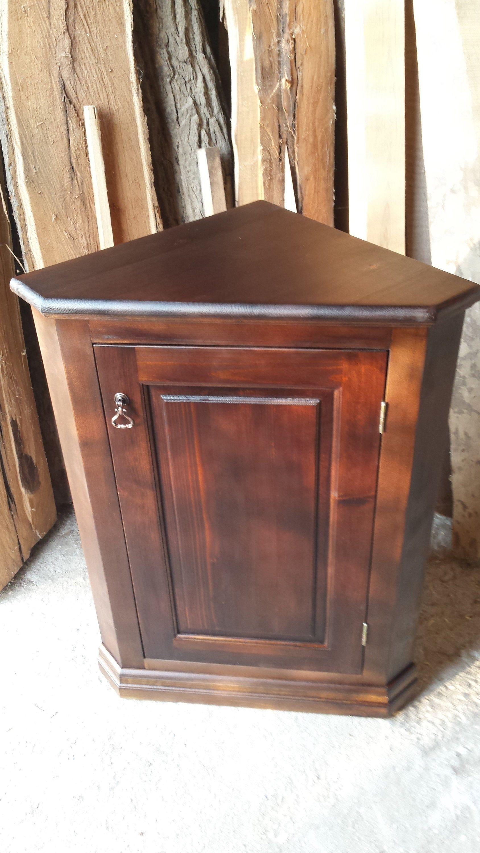 Corner cabinet | Etsy in 2020 | Corner cabinet, Pine wood ... on Corner Sconce Shelf Cabinet id=39345