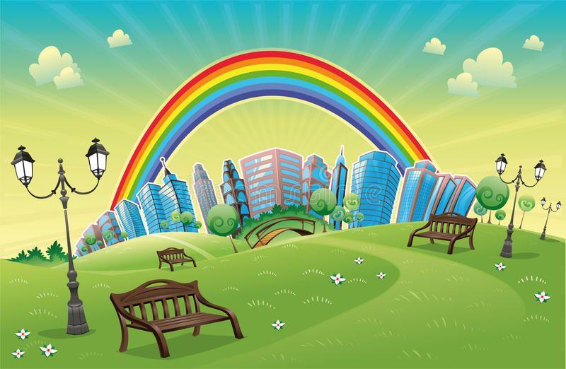 A Beautiful Autumn Mountain Landscape With Sunlit Poplars And Blue River Autumn Aff Sunlit Poplars Blue Rainbow Park Funny Cartoon Cartoons Vector