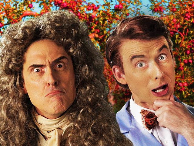 Sir Isaac Newton Weird Al Yankovic Vs Bill Nye In Epic Rap
