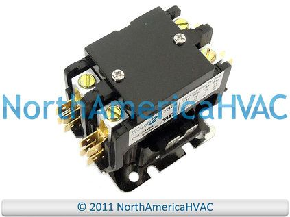 Air Conditioner 24 Volt Contactor Relay Double 2 Pole Relay Trane American Standard