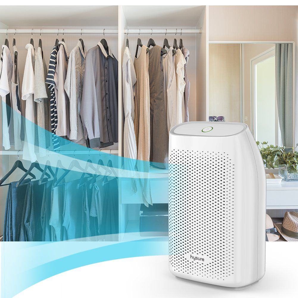 hysure Mini Dehumidifier with 700ml Compact and Portable for Damp ...