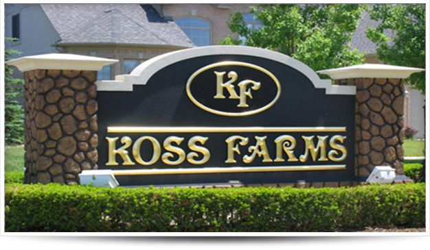 Monument Signs are a must do marker for communities, medical complexes, auto dealerships and more!