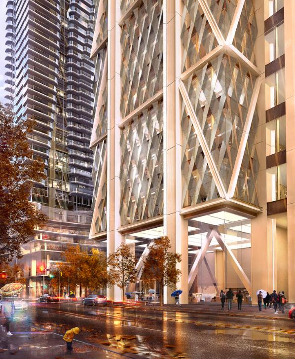 New Condos And Apartments Rise Up Around: #torontocondos #torontowallpaper #architecture #RealEstate