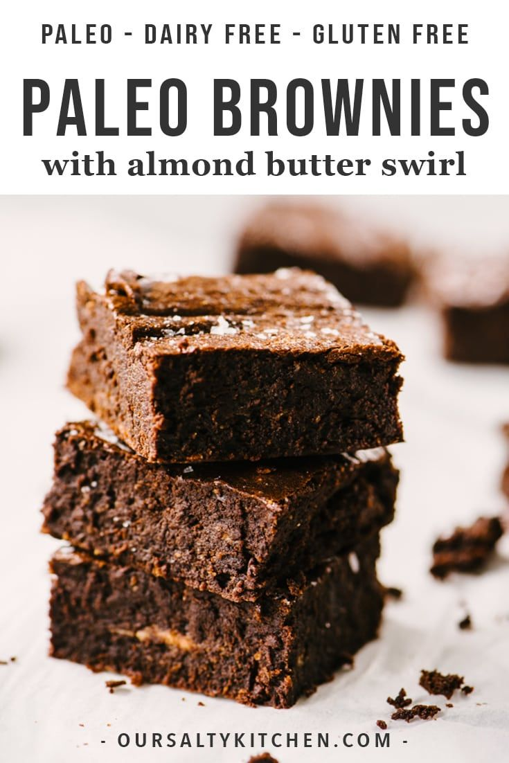 Life changing paleo brownies are here! These are the best gluten free, dairy free, refined sugar fr