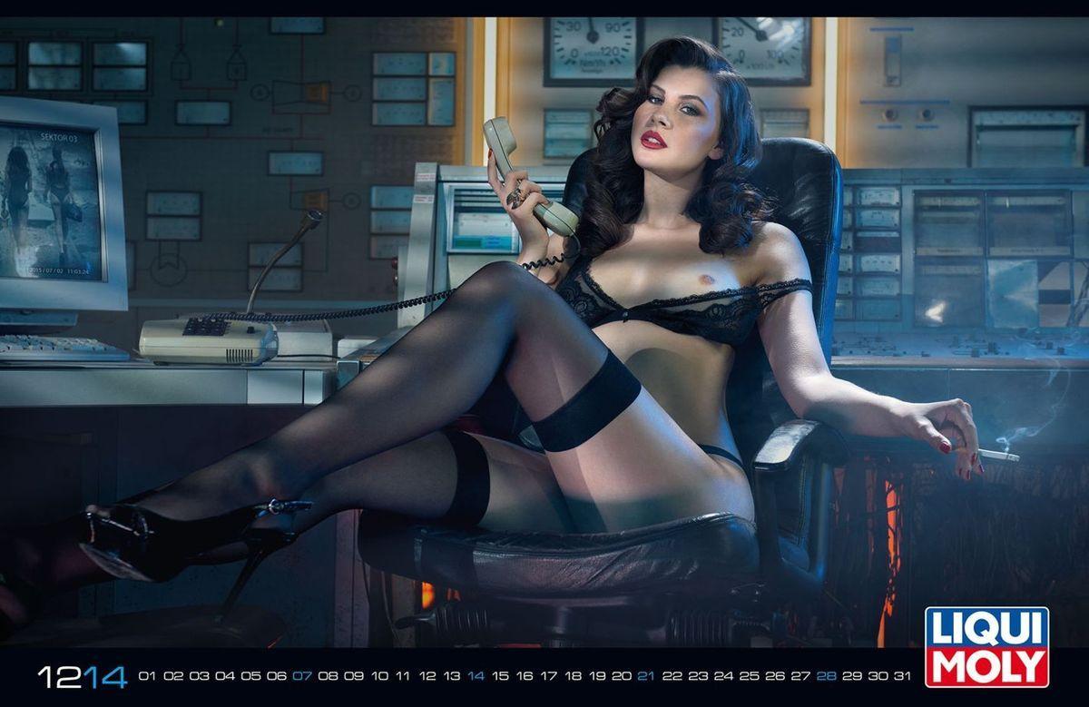 liqui moly official calendar 2015 sexy pinterest. Black Bedroom Furniture Sets. Home Design Ideas