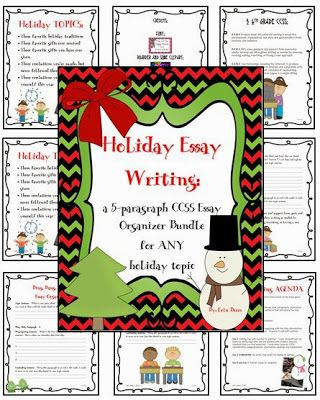 Freebie Number Nine Of The Twelve Days Of Christmas Holiday Essay  Freebie Number Nine Of The Twelve Days Of Christmas Holiday Essay Writing  Made Easy Tpt Teachersfollowteachers Written Essay Papers also Essay On High School Dropouts  Fifth Business Essay