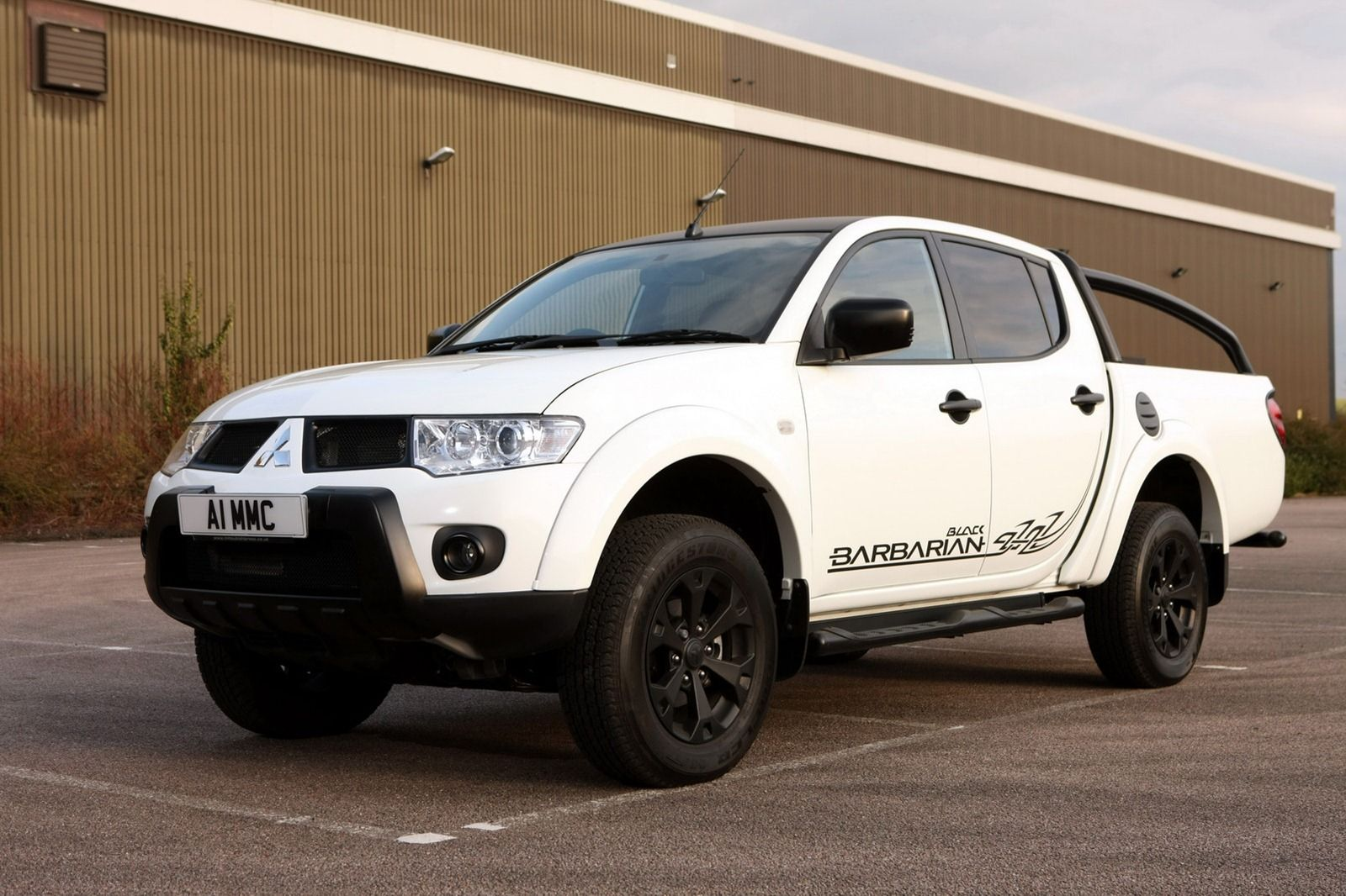 mitsubishi launches new l200 barbarian black special edition in the uk a 2 5