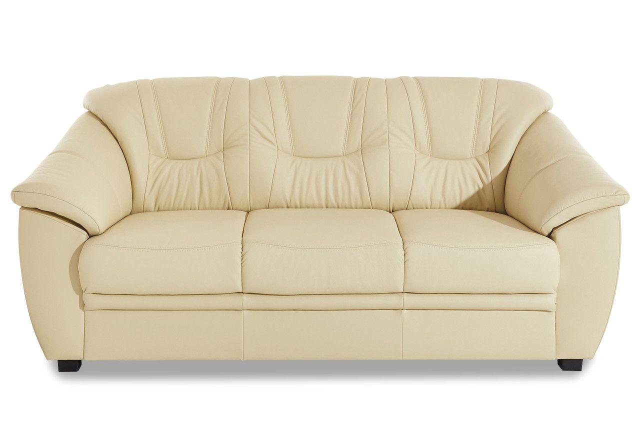 Leder Schlafsofa Unique Leder Schlafsofa Savona Mit Schlaffunktion Creme Mit In 2020 Moderne Couch Sofa Mit Schlaffunktion 3er Sofa