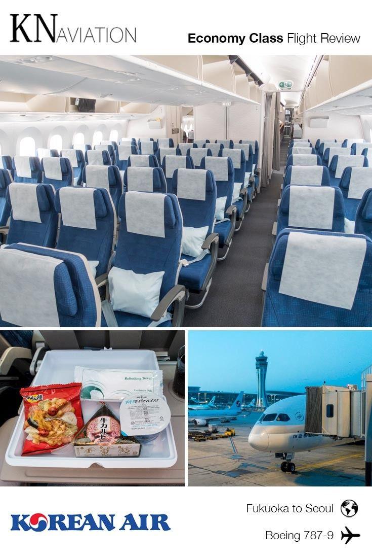 Flight Review Korean Air 7879 Economy Class from Fukuoka
