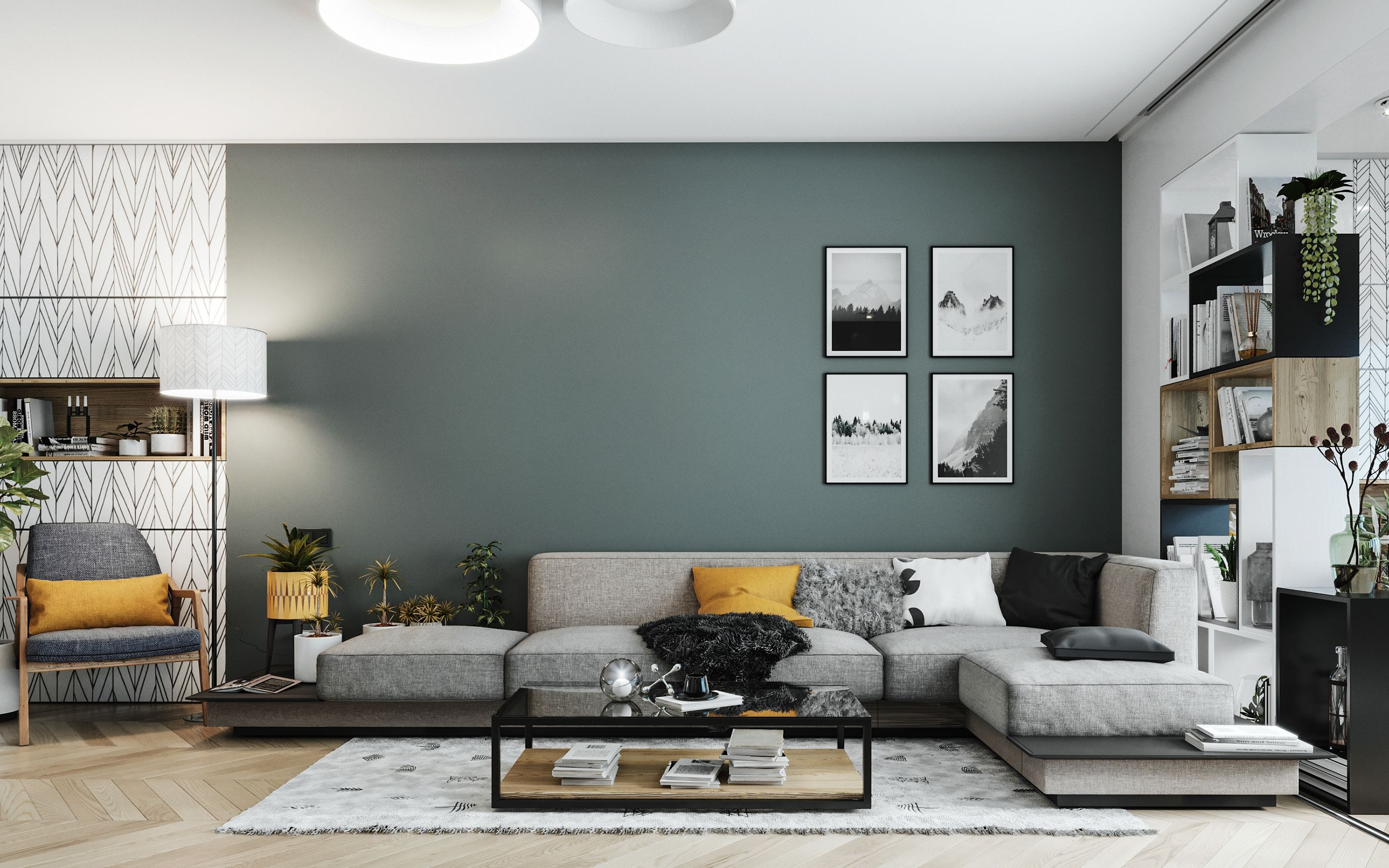 Scandinavian Apartment On Behance In 2020 Scandinavian Style Interior Scandinavian Style Home Scandinavian Interior Design
