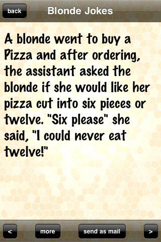 pun Adult blonde joke