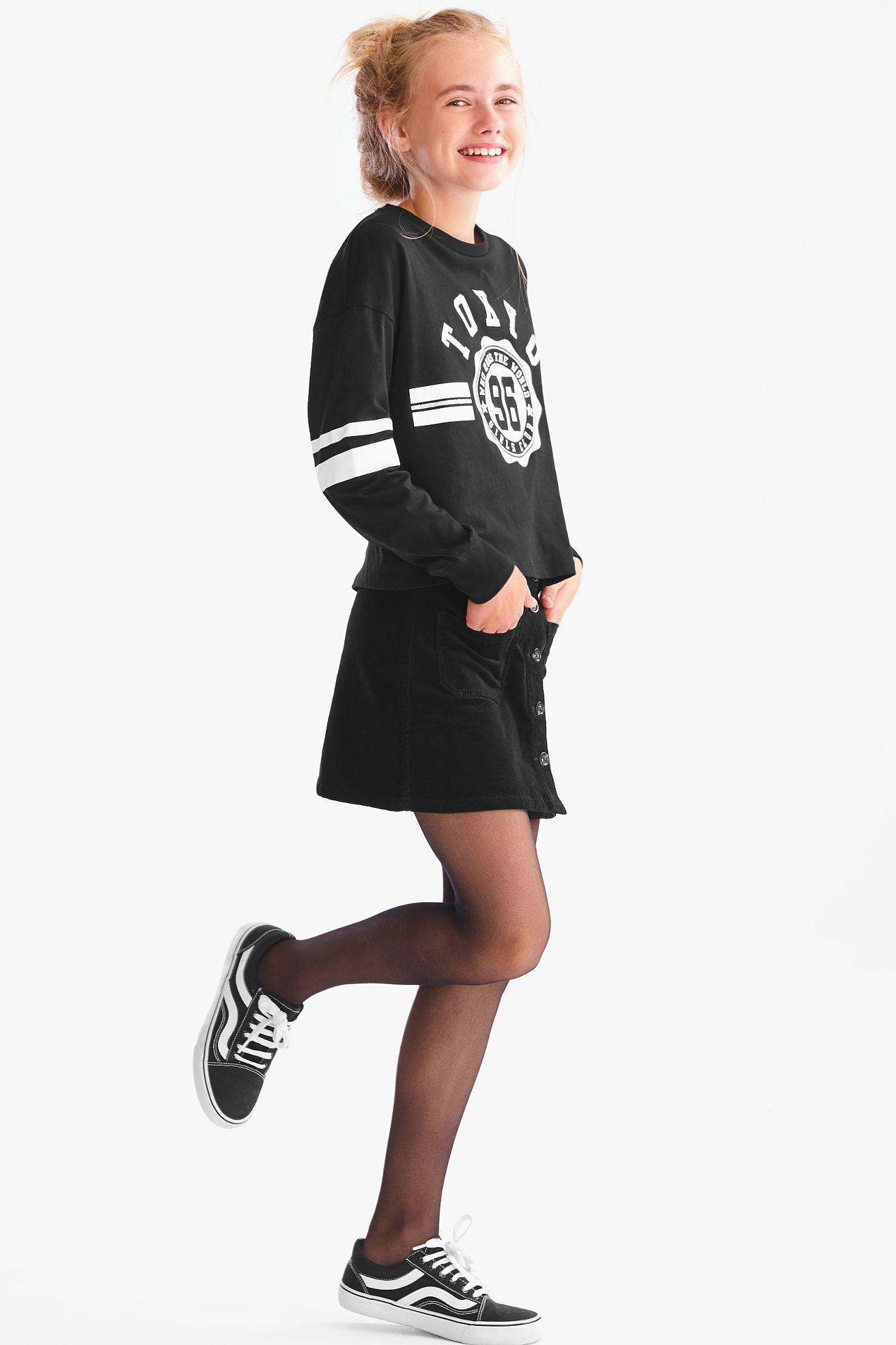 Rock | C&A | Strumpfhosen outfit, Mädchen strumpfhose