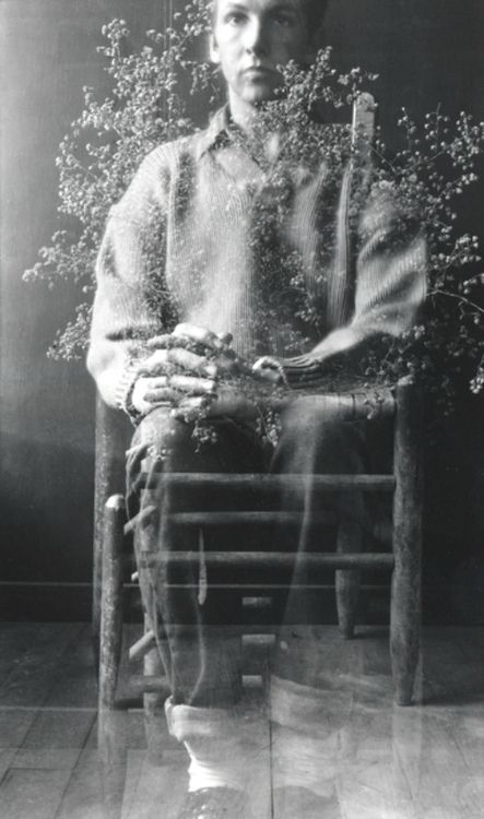 Robert Rauschenberg Untitled [Self-portrait II, Black Mountain], 1950