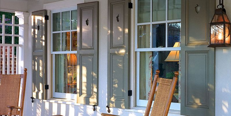 Merveilleux Traditional Homes With Timberlane Shutters