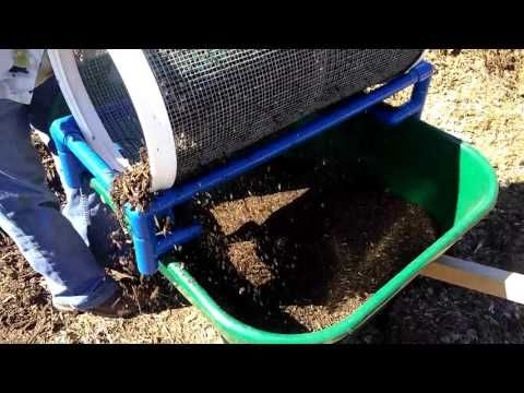 Garden Rolling Sifter Selling Now On Ebay 99 00 Worm Castings