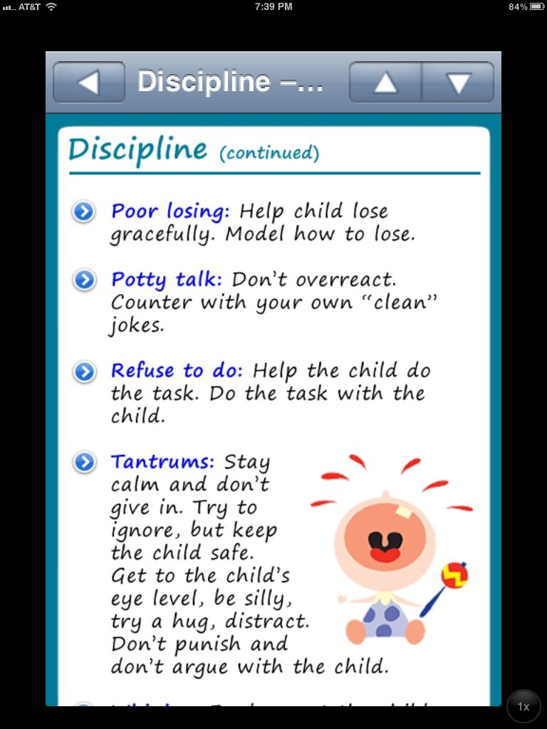 Babysitting Guide App for teens for preparation/or look