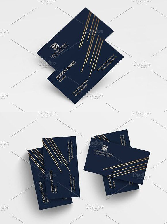 Classic Corporate Business Card Graphic Design Business Card Business Cards Creative Templates Classic Business Card
