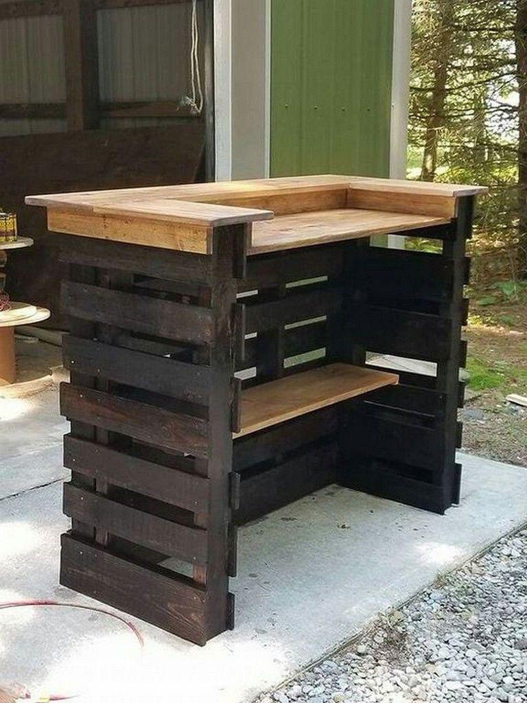 30+ Inspiring DIY Wooden Pallet Bar Designs to Transform ...