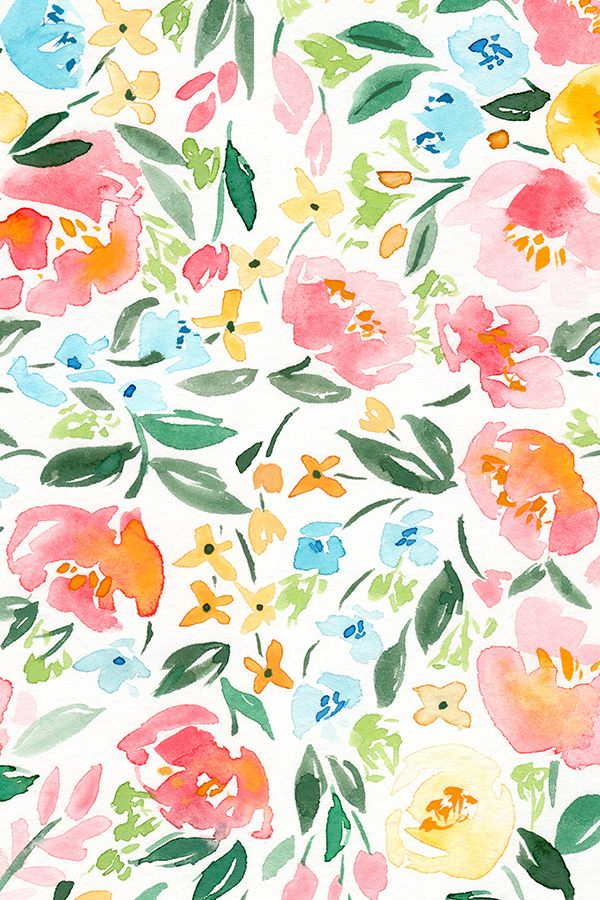 Colorful Fabrics Digitally Printed By Spoonflower Persimmon