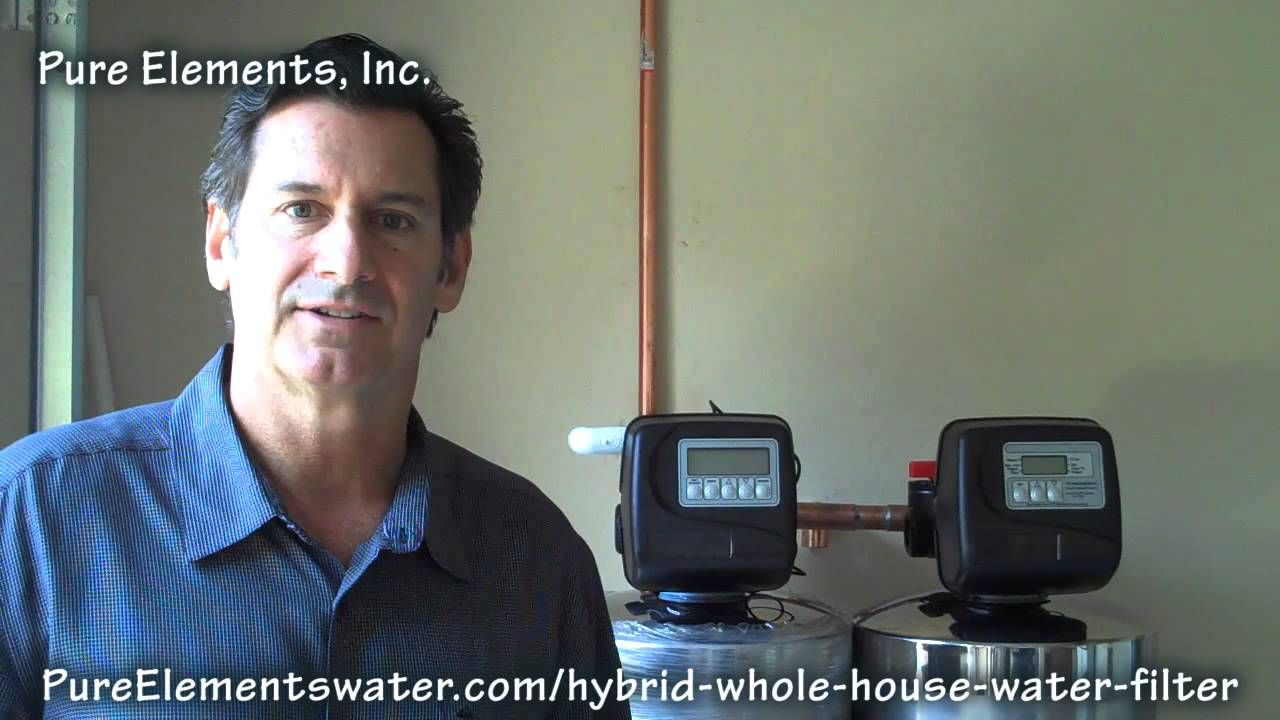 Hybrid water filtration system. This system utilizes a