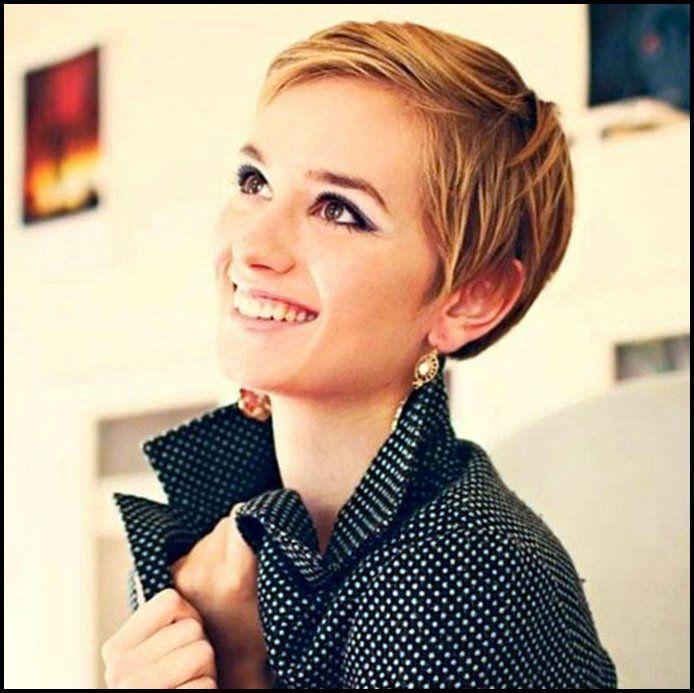 21 Lovely Pixie Haircuts Perfekt für runde Gesichter
