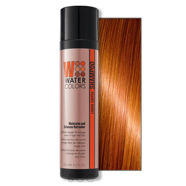 Tressa Watercolors Color Maintenance Shampoo Liquid Copper