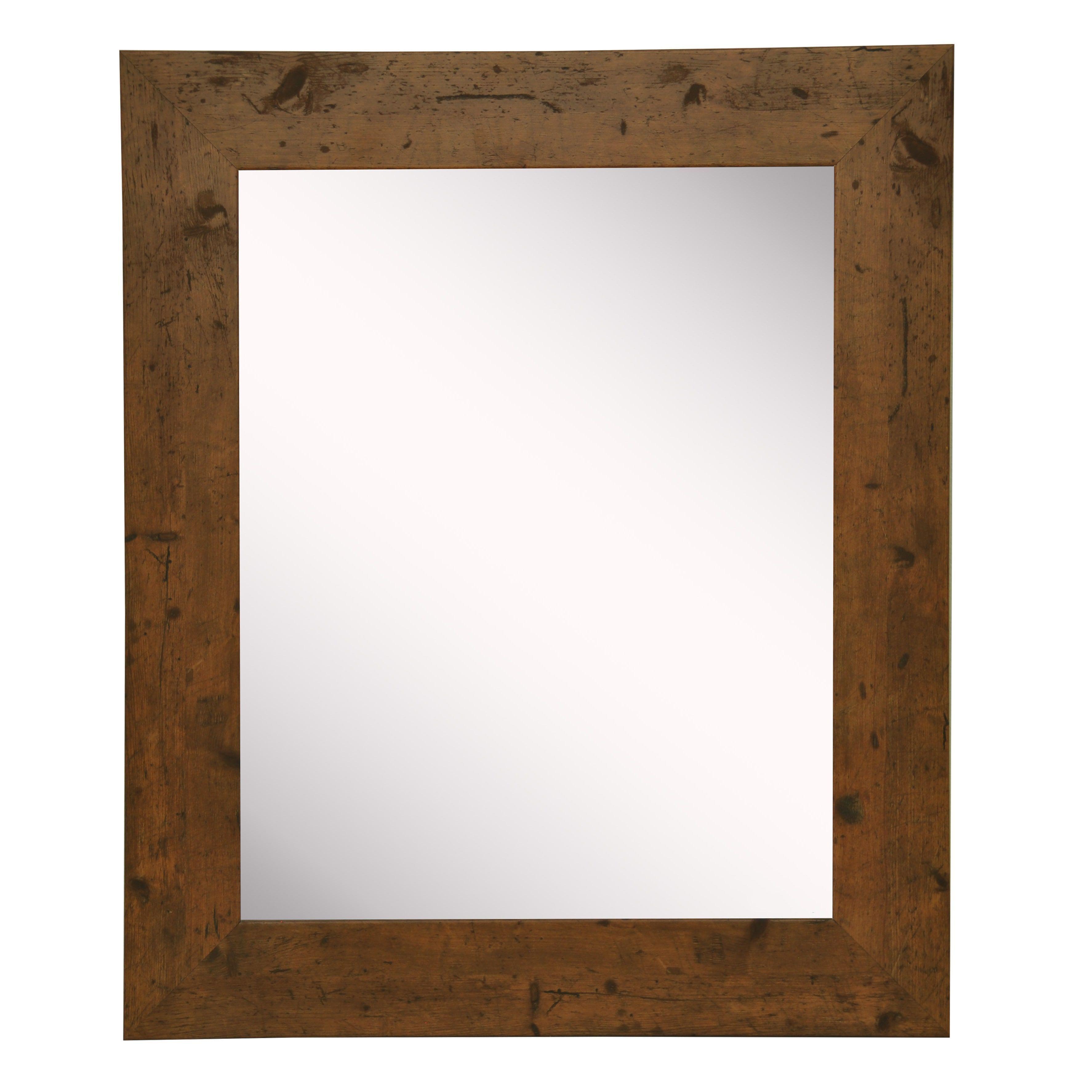 American Made Rayne Rustic Light Walnut Wall/ Vanity