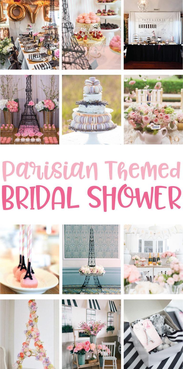 Parisian Themed Bridal Shower Ideas On Love The Day Parisian Themed Bridal Shower Paris Bridal Shower Theme Wedding Shower Themes