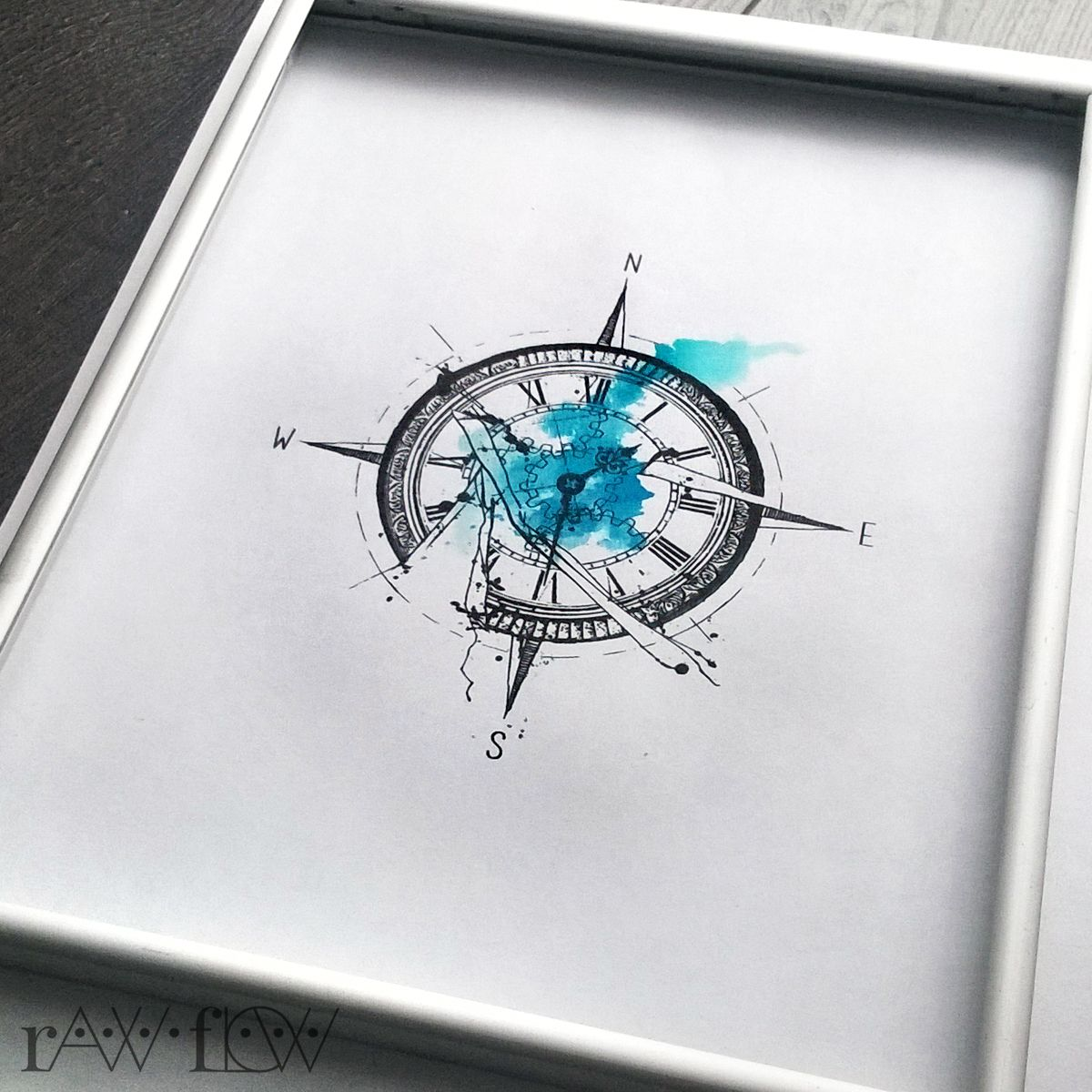 itsrawflow photo signature pinterest tattoo abstract compass tattoo and compass. Black Bedroom Furniture Sets. Home Design Ideas