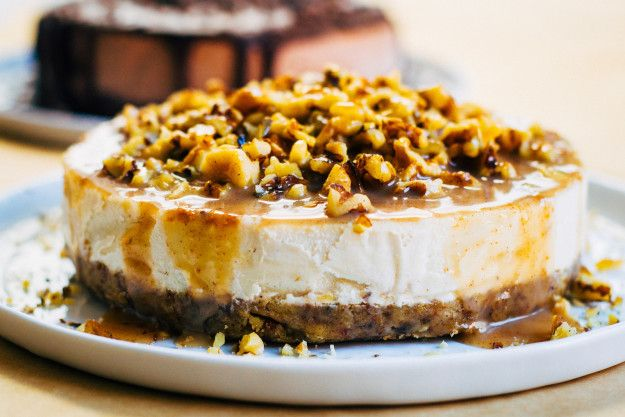 Vanilla Bean Cheesecake | Community Post: 12 Insanely Decadent Cheesecakes That You Won't Believe Are Vegan
