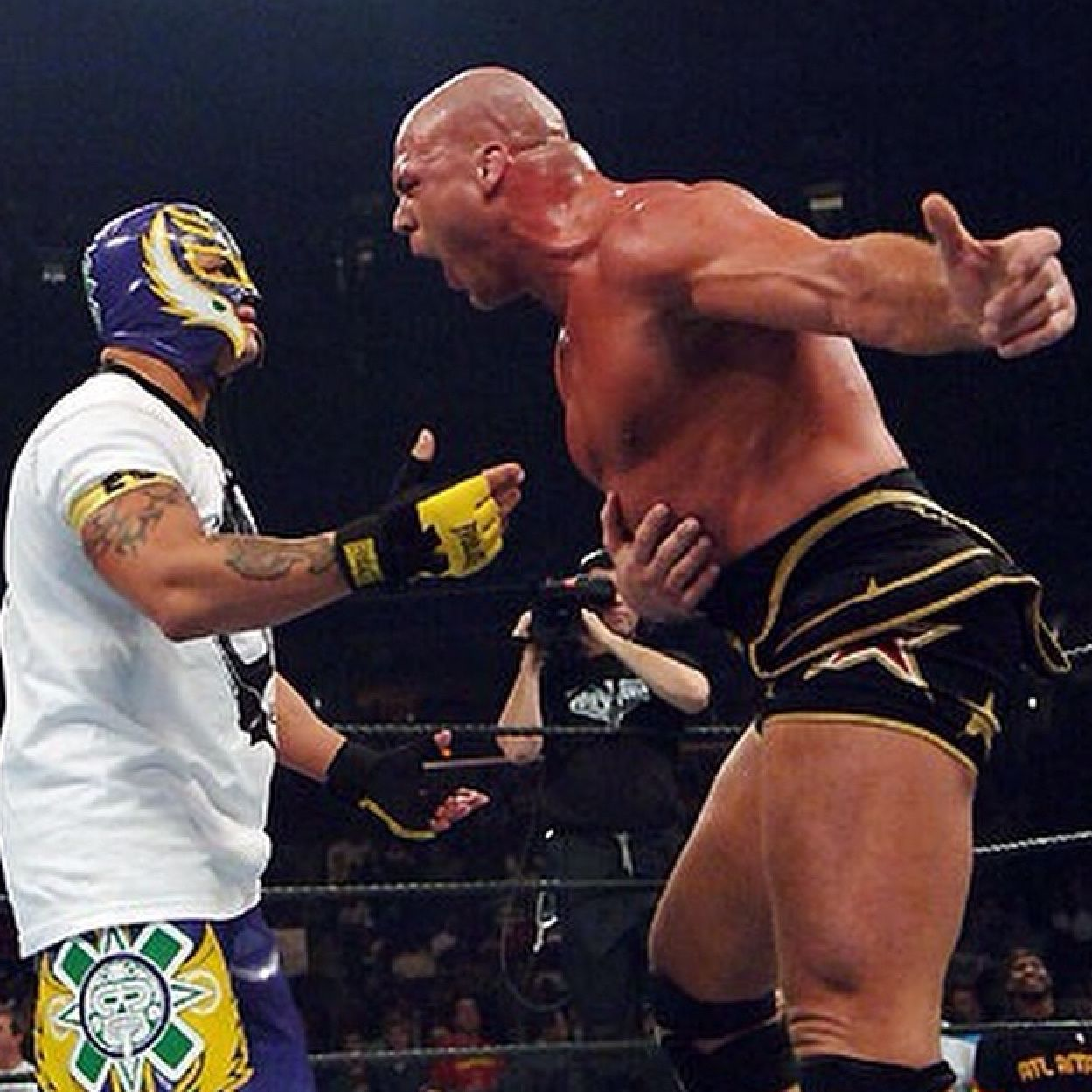 Lucha Libre Rey Misterio Rey Mysterio And Kurt Angle Wrestling Wwe Wrestlers