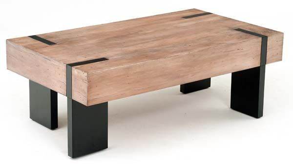Urban Rustic Collection Coffee Table Design 3 Shown in