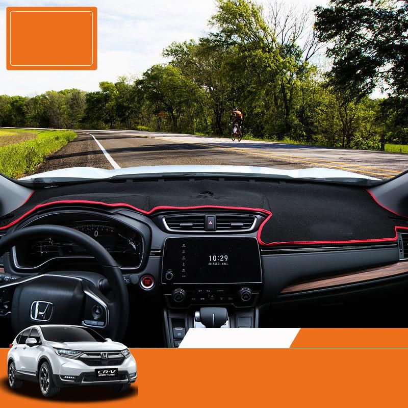 Lsrtw2017 Car Styling Car Dashboard Mat For Honda Crv 2017 2018 5th Generation Yesterday S Price Us 50 00 44 76 Eur Today S Price Honda Crv Interior Accessories Luxury Cars