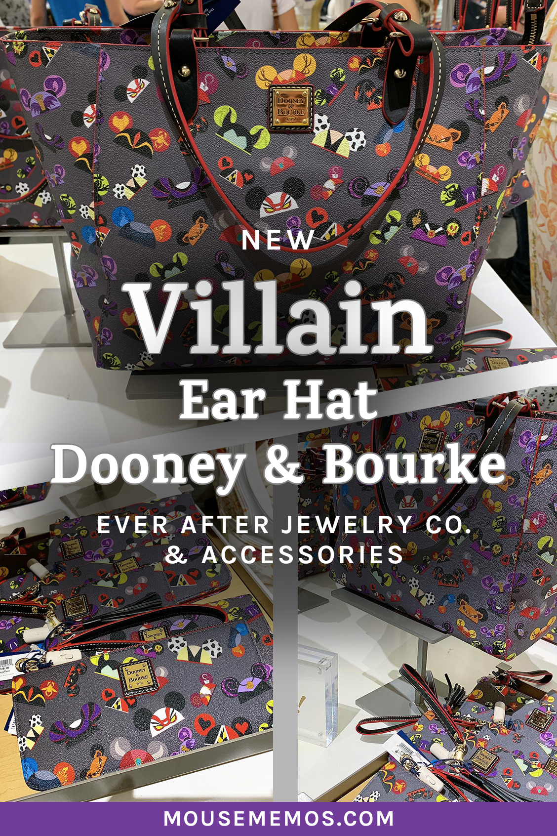 062c0c24c We are totally crushing on the New Disney Villain Ear Hat Dooney & Bourke  Collection at Ever After Jewelry Co. & Accessories in Disney Springs!