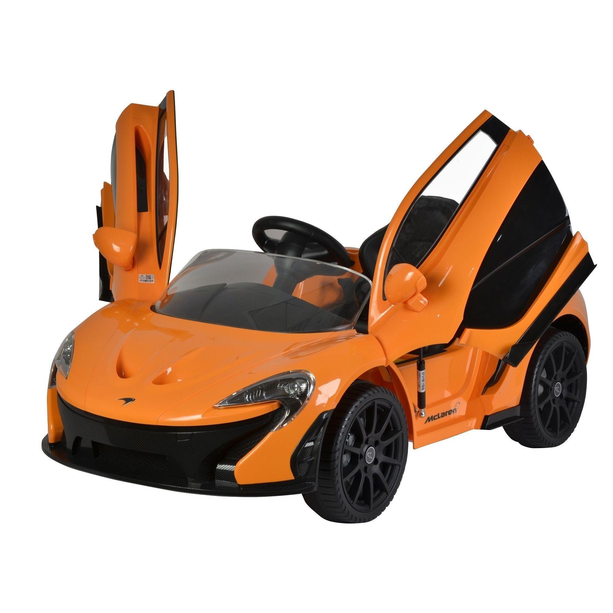 Mclaren P1 12v Power Wheel Ride On Super Car Parental: Bedding, Furniture, Electronics, Jewelry