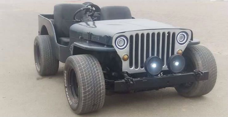 Mahindra Open Jeep Punjab Modified All India Jaipur Cars 20