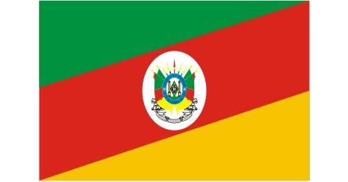 Bandeira Do Rio Grande Do Sul Vetorizada Em Cdr Vetor Brasil
