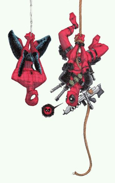 Spiderman and Deadpool