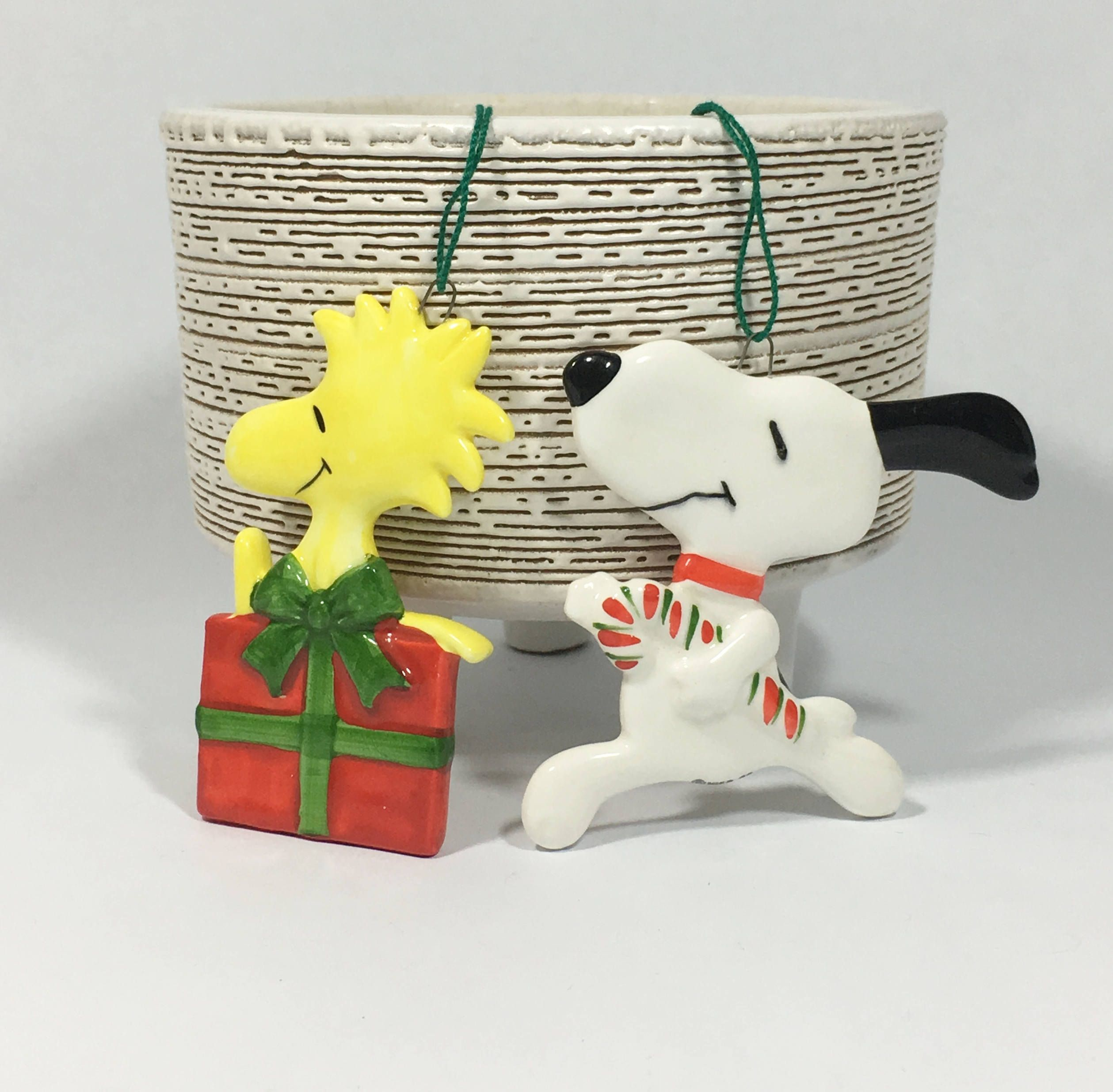 Snoopy And Woodstock Christmas Ornaments.Vintage Snoopy Christmas Ornament Woodstock Christmas