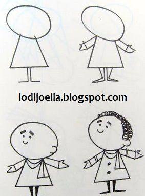 Como Hacer Dibujos Paso A Paso Lodijoella Como Hacer Dibujos Enseñar A Dibujar Como Dibujar Niños