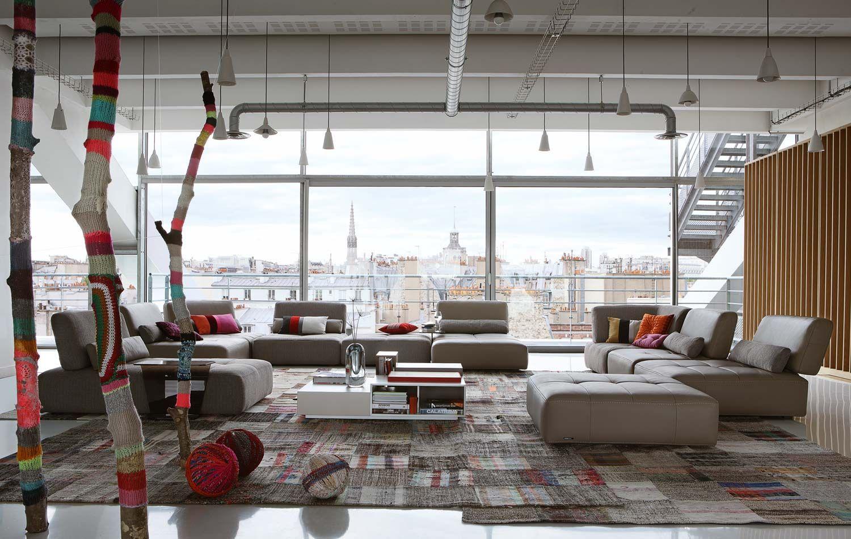 Großartig Living Room Inspiration: 120 Modern Sofas By Roche Bobois (Part 3/3)