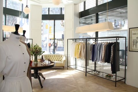 maison kitsuné NYC- love their compilation albums and excited to see the clothes!