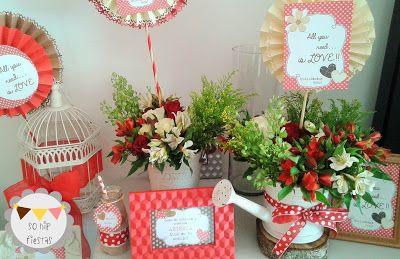 So Hip Fiestas: Candy buffet para Despedida de Gaby - All you need is Love