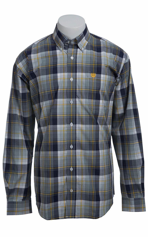 e223eaff509a Cinch L S Men s Fine Weave Shirt 1103774