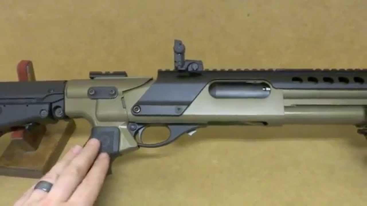 Remington 870 Tactical with Mesa Tactical, Magpul, & Burnt Bronze